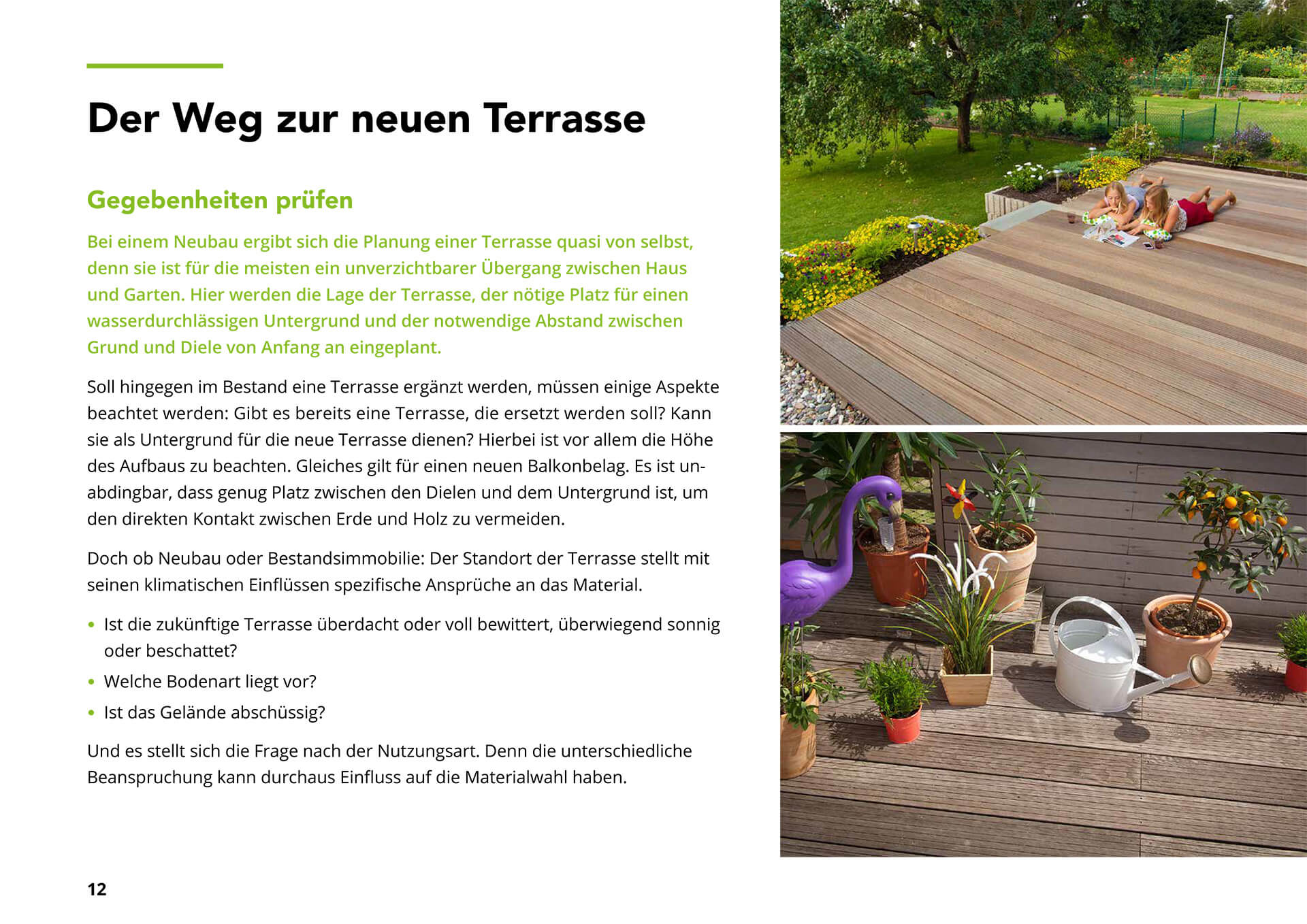 E-Book Terrassendielen
